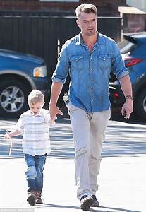 Josh Duhamel spends some quality time with son Axl in Los ...