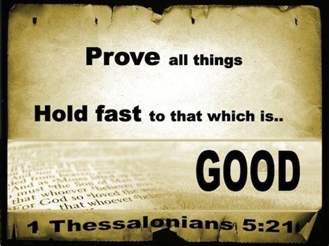 thessalonians   examine  carefully