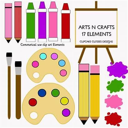 Crafts Arts Clipart Clip Craft Digital Teacher