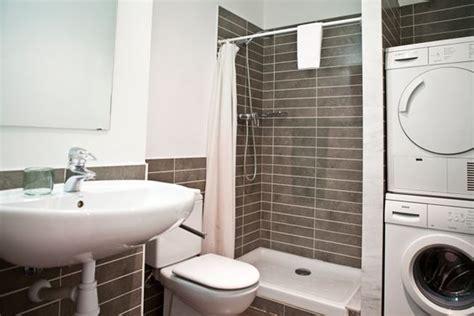 9 Petites Salles De Bains Avec Lave-linge (+astuces