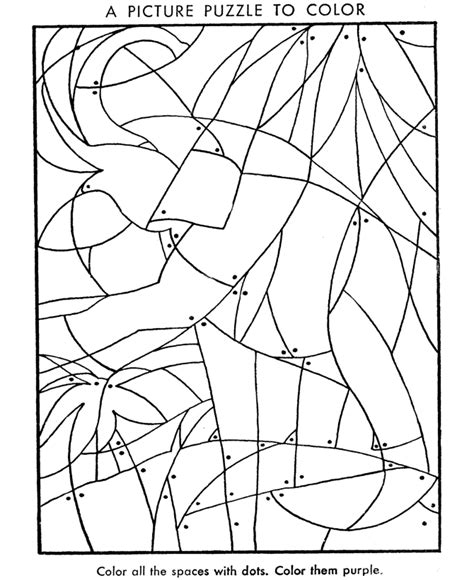 hidden picture coloring page fill   colors  find