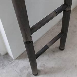 Bambou Noir Prix : echelle porte serviette en bambou noir pour salle de bain tikamoon ~ Teatrodelosmanantiales.com Idées de Décoration