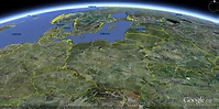 Poland Map and Poland Satellite Image