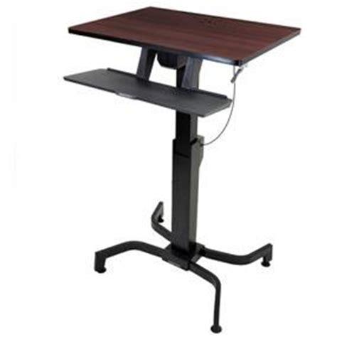 amazon com ergotron 24 280 927 workfit pd sit stand desk