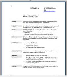 resume to get you hired 301 moved permanently