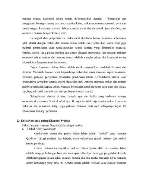 paper etika ekonomi  syariah ekonomi  islam