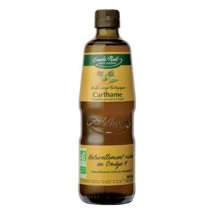 huile de carthame cuisine huile de carthame 500 ml emile noël