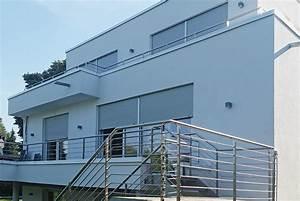 balkon mit aufgangstreppe nappenfeld edelstahl With französischer balkon mit garten lunge