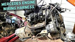 Mercedes Engine Wiring Harness Removal Replacement Engine