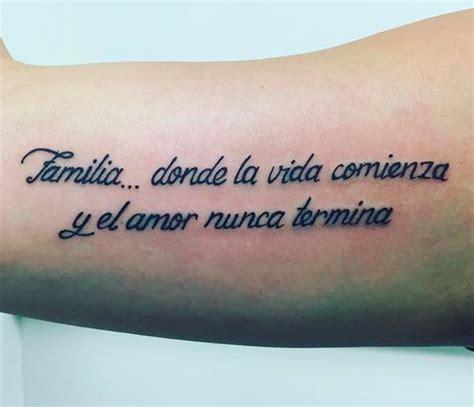Spanish Quote & Script Tattoos