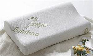 bamboo memory foam pillow 2 pack lot 850964 allbids With bamboo brand pillow