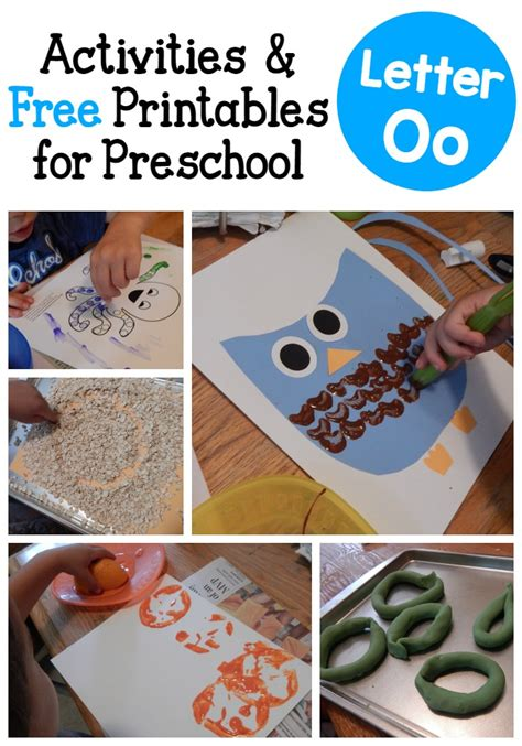 letter o activities for preschool the measured 534 | Letter O activities for preschool