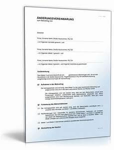 Mietvertrag Gekündigt Mieter Zieht Nicht Aus : nderungsvereinbarung zur aufnahme eines mieters muster ~ Lizthompson.info Haus und Dekorationen
