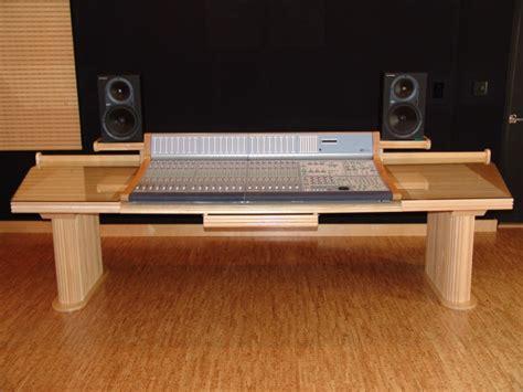 custom recording studio desk audiomachine custom furniture steven klein s sound