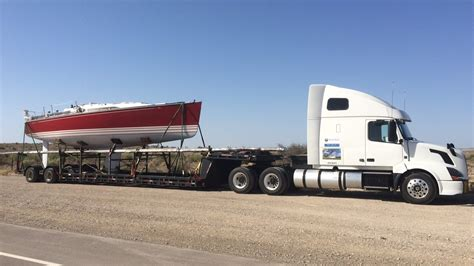 Boat Road Transport Cost by Home Yacht Trucking Boat Transport Sailboat Transport