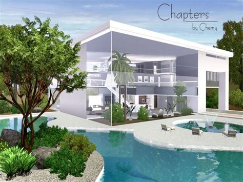 of sims 4 house building small modernity chemy s chapters modern Best