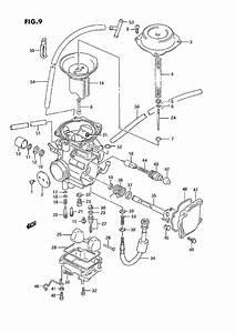 Suzuki 300 King Quad Carburetor Diagram