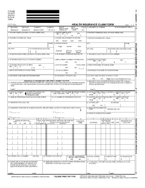 hcfa 1500 form pdf fill online printable fillable
