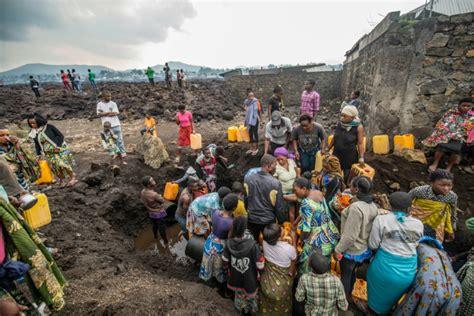 DR Congo volcano aftershocks rattle residents, damage ...