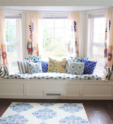 create diy window seat cushion decor   world