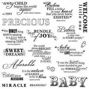 Scrapbooking, Q... Babyshoot Quotes