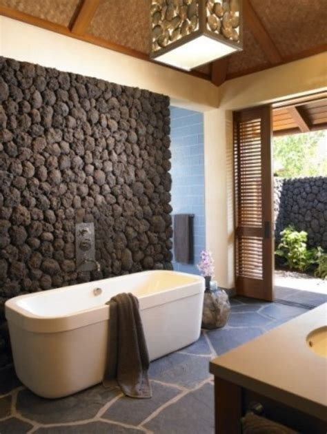 50 wonderful stone bathroom designs digsdigs