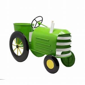 Lime A Metal : alpine metal lime green tractor metal planter lyt272gn ~ Edinachiropracticcenter.com Idées de Décoration