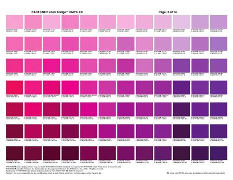 Pantone Color Bridge Cmyk Ec Cheat Sheets