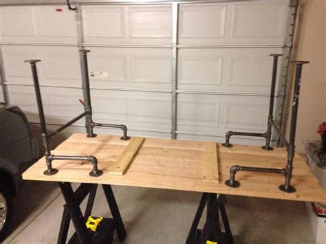 black iron pipe desk black iron pipe table industrial bars industrial and