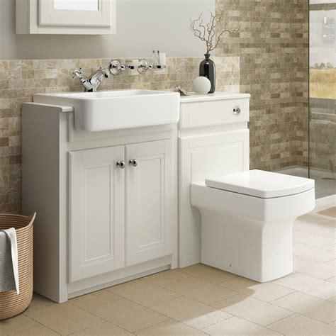 Bathroom Vanity Units - traditional bathroom vanity unit basin sink back to wall