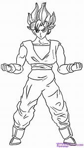 shizeblog: goku super saiyan coloring pages