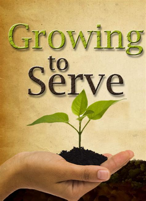 Growing To Serve  Glencairn Church
