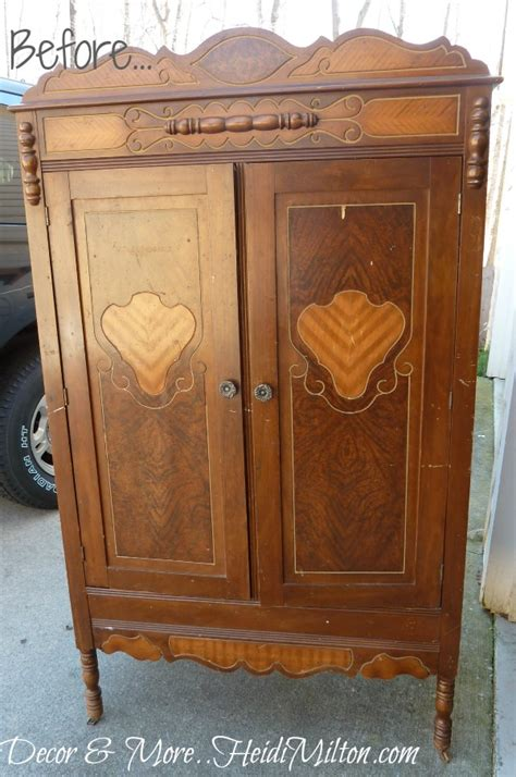 A New Before & After Armoire Makeover