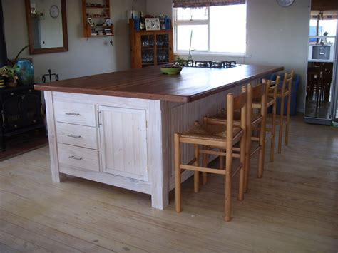 kitchen island with storage and seating beach house large kitchen island by art lumberjocks com woodworking community