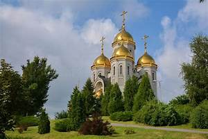 Church Russia Volgograd Stock Photos