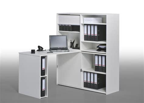 bureau avec rangement pas cher bureau blanc pas cher