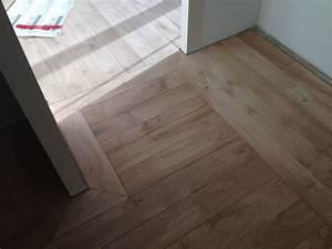 parquet sur plancher chauffant pose carrelage imitation With parquet massif pour plancher chauffant