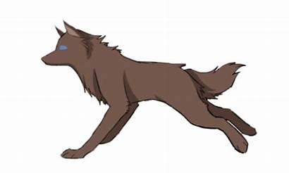 Running Wolf Animated Animation Drawing Deviantart Spirit