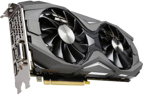 Zotacs Geforce Gtx 1080 Amp Edition Graphics Card Is On
