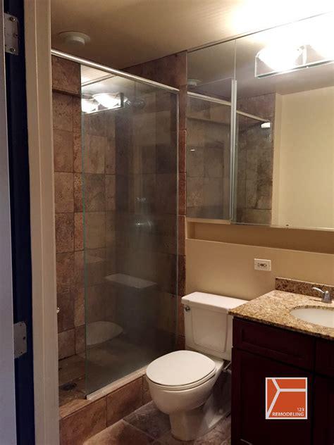 Condo Bathroom Remodel     St South Loop