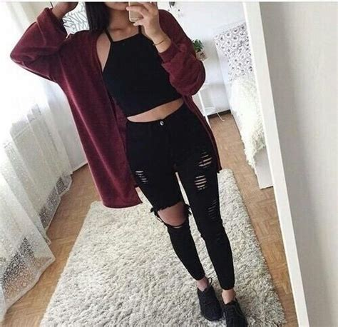 Best 25+ Burgundy outfit ideas on Pinterest | Burgundy top Fall professional outfits and Dress ...