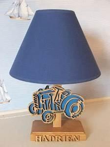 Lampe De Chevet Pour Enfant : lampes de chevet lampe de chev t tracteur pour chambre d 39 enfants ~ Melissatoandfro.com Idées de Décoration