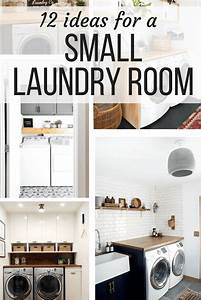 Small Laundry Room Ideas (Organization & More!) - Love