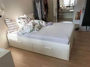 Bett Inkl Matratze : brimnes bett inkl latenrost und matratze kaufen auf ricardo ~ Watch28wear.com Haus und Dekorationen