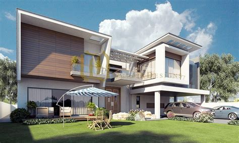 contemporary residence by galleria designs renderings by