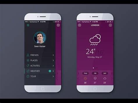 mobile app ui design  mobile app design