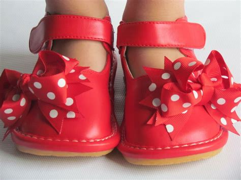 toddler shoes squeaky shoes with bow up to size 7 379 | s l1000