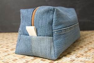 Was Kann Man Aus Einer Alten Jeans Machen : kulturbeutel aus alter jeans upcycling frau fadenschein ~ Frokenaadalensverden.com Haus und Dekorationen