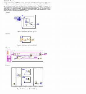 Solved  For Each Of The Following Labview Block Diagrams