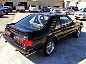 1986 Ford Mustang Gt 44 464 Miles Black 5 0l V8 Ohv 16v 5